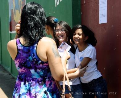 Her students love Professora Sayonara.