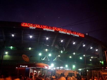 Morumbi-stadium in São Paulo.
