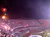 Fireworks for São Paulo. The fans of Tigre have already left.